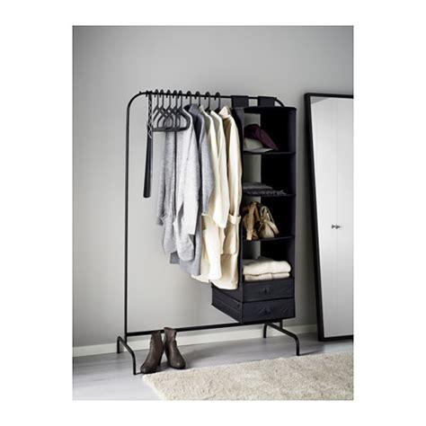 mulig clothes rack black 99x46 cm ikea