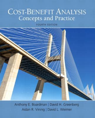 cost benefit analysis concepts and practice books cost benefit analysis by anthony e boardman david h