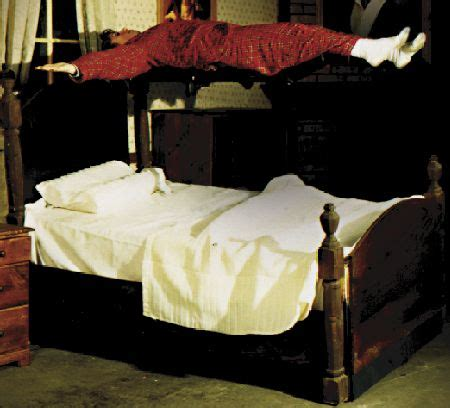 haunt bed exorcist bed levitator haunted house prop
