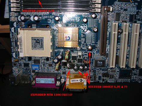 capacitor plague symptoms desktop restarting by itself overheat techspot forums