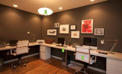 20 Space Saving Office Designs With Functional Work Zones Home Office Designs For Two