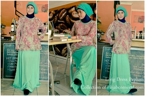 Peplum Jumbo Abstrac Atasan Katun Rayon pop batik dress model peplum