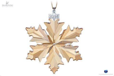 swarovski scs christmas ornament annual edition 2014
