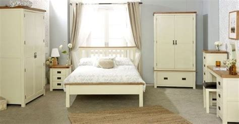 Birlea New Hshire Bedroom Collection In Cream And Oak Hshire Bedroom Furniture