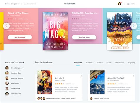 design online book 40 fantastic online book store web designs web graphic
