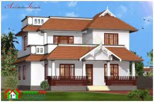 Kerala Home Design Elevation Architecture Kerala Traditional Style Kerala House Plan