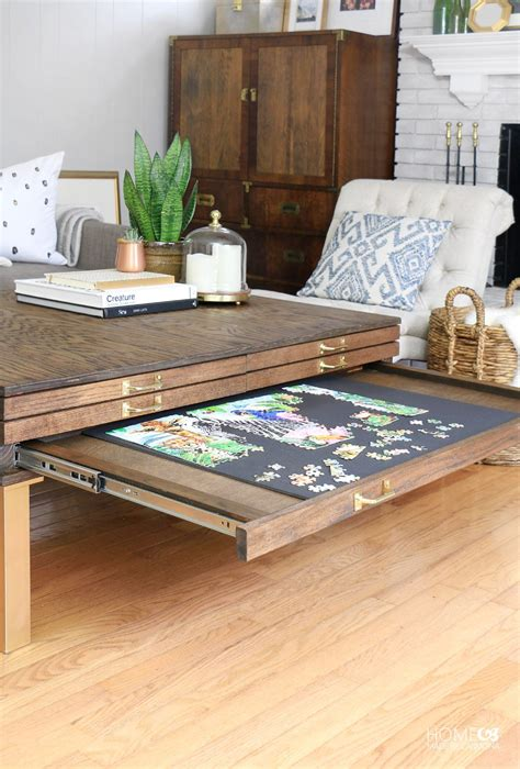 jigsaw puzzle table with drawers australia the 25 best jigsaw puzzle table ideas on