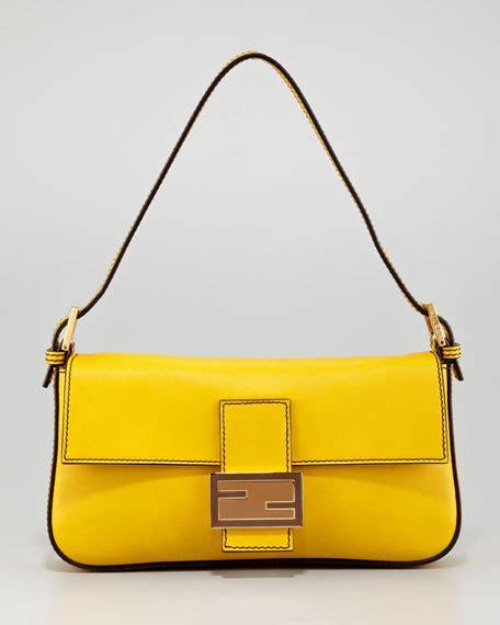Baguette Bag fendi leather baguette bag chantilly