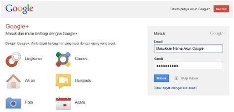 buat akun google ples cara membuat akun google plus google cara membuat