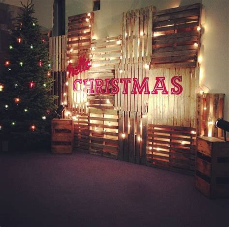 xmas pallet decor christmas decorations from pallets ideas christmas