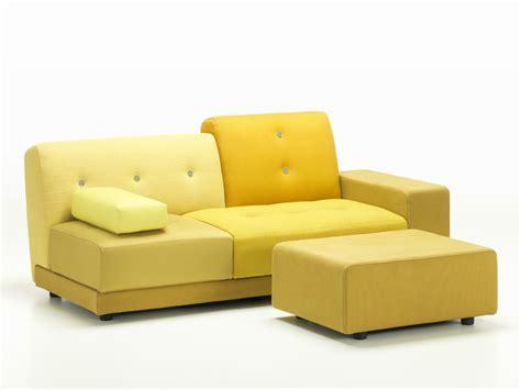 golden sofa buy the vitra polder sofa golden yellow at nest co uk