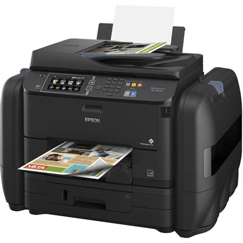 Epson Printer L405 Epson Printer epson workforce pro wf r4640 ecotank all in one c11ce69201 b h