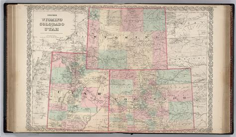 map of wyoming and colorado map of colorado and wyoming my