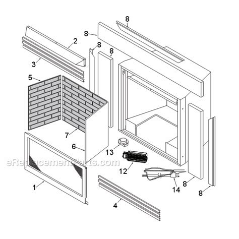 monessen dis33g parts list and diagram ereplacementparts