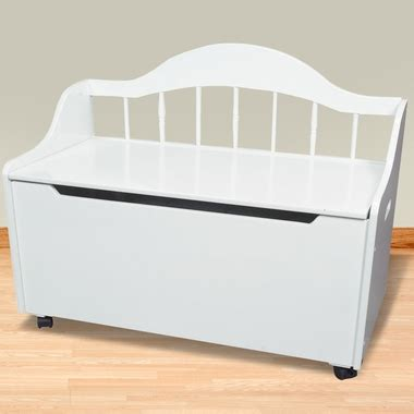 white toy bench kids deacon s bench toy chest on casters white free
