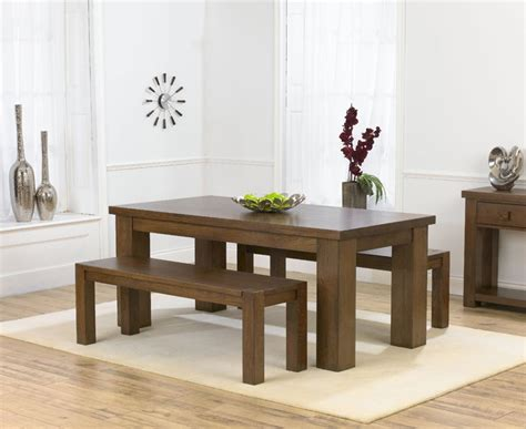bench style dining table sets bench dining tables bench