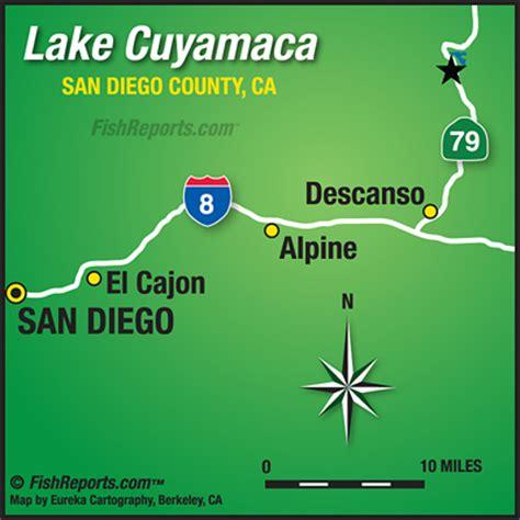 lake cuyamaca fish report julian, ca (san diego county)
