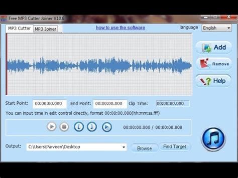 download mp3 cutter untuk pc free mp3 cutter joiner in pc in hindi youtube
