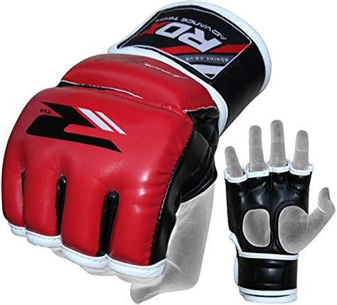 Rdx Leather Grappling Mma Gloves Sparring Ufc Punching Cage F rdx mma gloves grappling martial arts punching sparring bag cage fighting hide leather