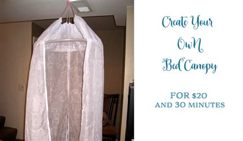 Make Your Own Canopy Bed make your own canopy bed make your own bed canopy create