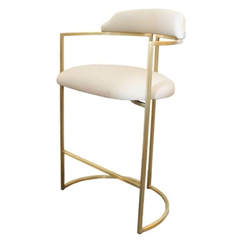 white bar stools for sale brass bar stools upholstered in white leather for sale at