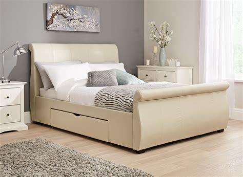 Manhattan Bed Frame   Ivory Bonded   Dreams