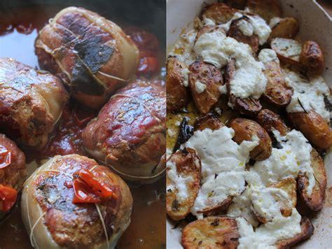 paupiettes de veau 224 l italienne et pommes de terre aux