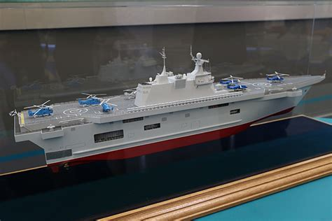 trimaran icebreaker new lhd ship project to replace mistrals in russia