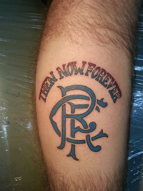 glasgow rangers tattoos designs ink rangers fc footy fair