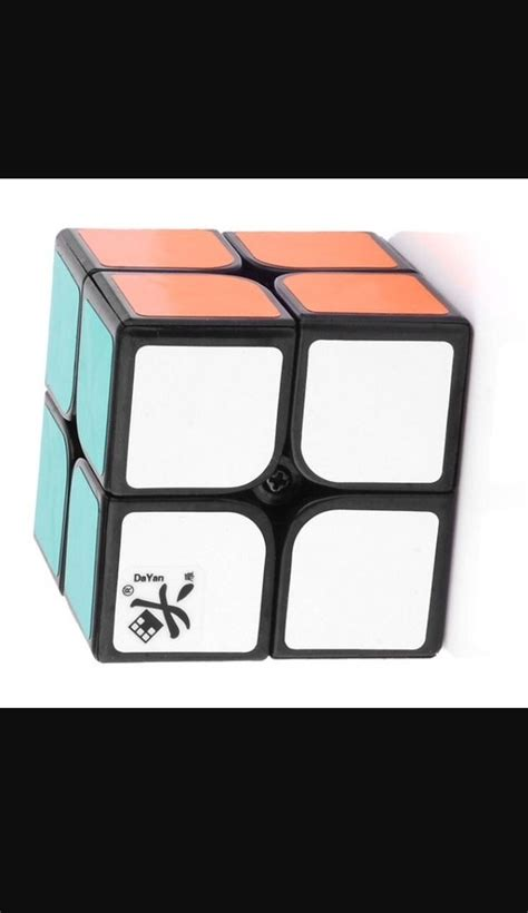 Rubik Jocubes 2x2 Base Hitam lucky cube rubic kubus rubik 3x3 daftar harga terkini