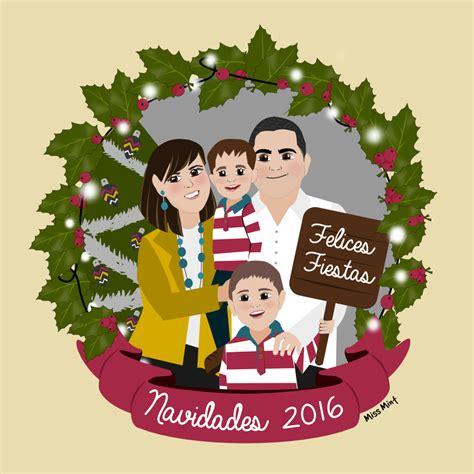 imagenes navideñas familia felicitaciones navide 241 as personalizadas y l 225 minas de