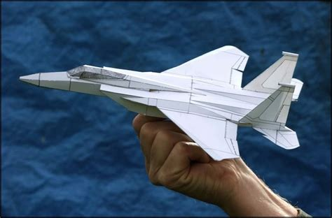 How To Make F15 Paper Airplane - best paper airplane design foto 2017