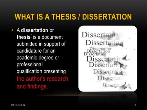phd thesis or dissertation dissertation these