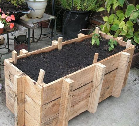 How To Build Planter Boxes For Vegetables by 1000 Images About House On Wine Barrels