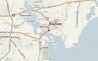 baytown map baytown location guide