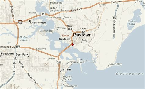 map of baytown texas baytown location guide