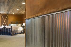 corrugated tin wainscoting corrugated metal for interior walls wainscot 1 1 4