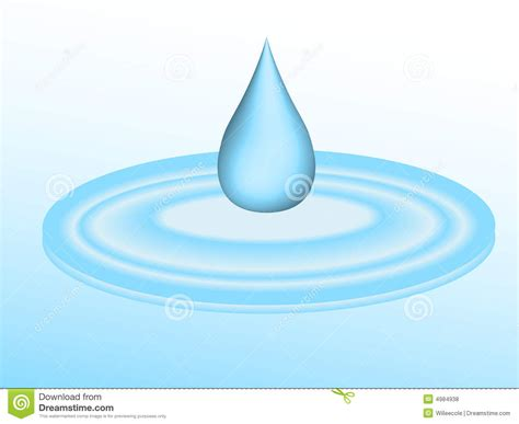 Shinny Rippel water drop clipart water puddle pencil and in color