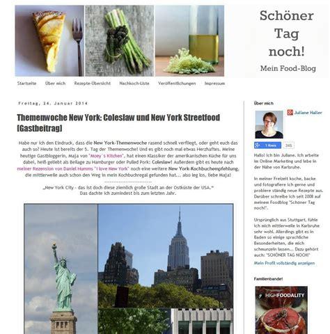 New York Küche by Kulinarische New York Themenwoche Bei Quot Sch 195 182 Ner Tag Noch Quot