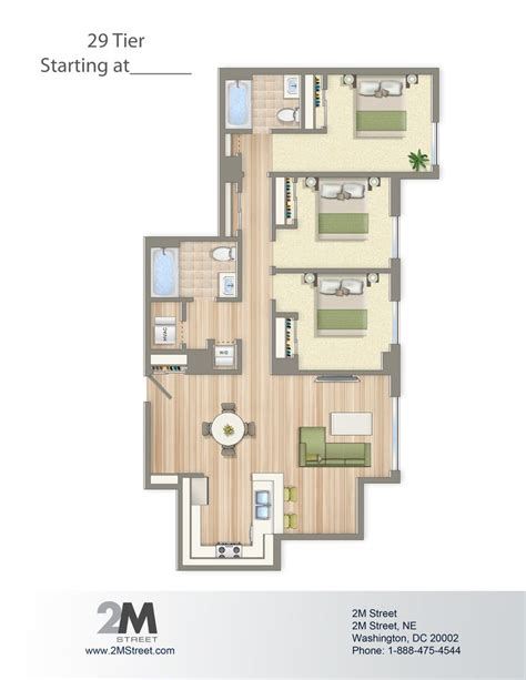 3 bedroom apartments in dc 21 best images about condo layouts on pinterest house