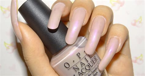Manicure Di Opi bunny nails opi venus di violet swatches and review