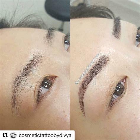tattoo tutorial permanent eyebrows makeup eyebrows brows