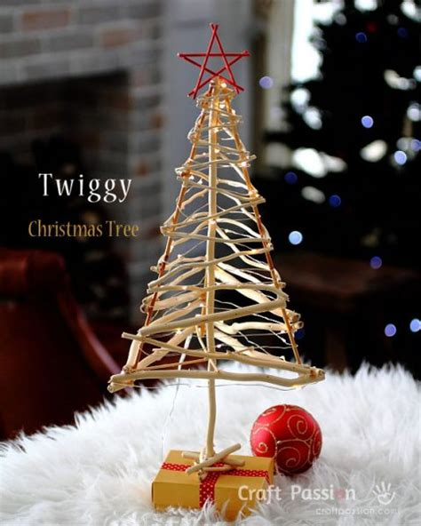 make a twig christmas tree 187 dollar store crafts
