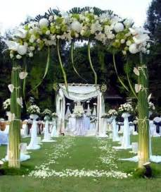 Home Decor Outdoor wedding decor with floral decoration cool wedding