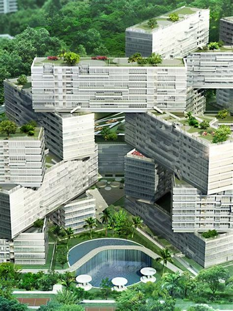 the interlace jenga like apartments for singapore 25 best ideas about rem koolhaas on pinterest science