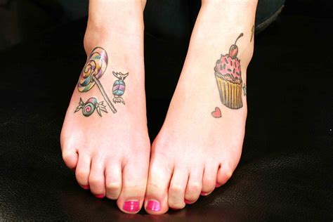 tattooed feet 40 attractive foot designs