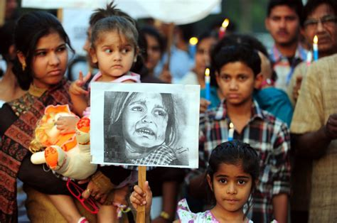 india victim 5 year victim dies in india two arrested