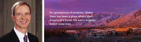 Weber State Mba Scholarships by President S Message 125 Capital Caign Weber