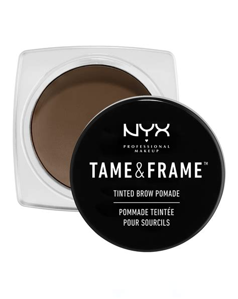 frame tinted brow pomade by nyx professional makeup