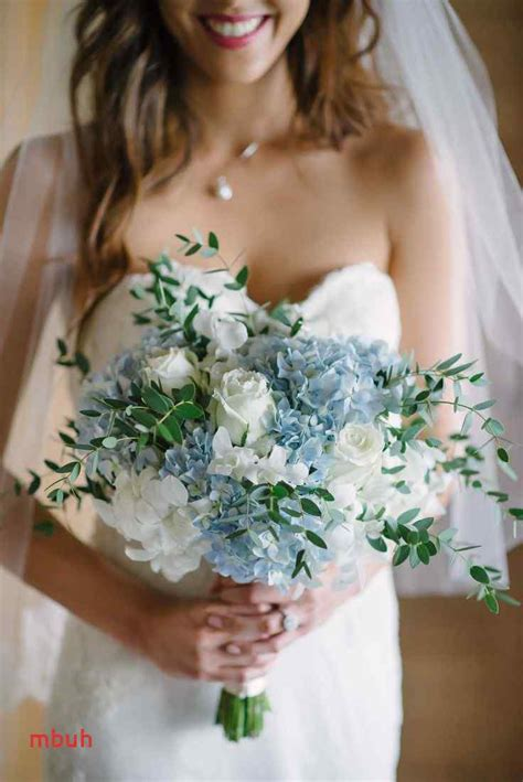Wedding Flower Ideas Blue by Dusty Blue Bouquet New Best 25 Blue Bouquet Ideas On